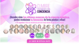 Del 25 al 31 de Enero 2018 ( GRATUITO ) - CUMBRE CRECIMIENTO CON CONCIENCIA ( Más de 25 ponentes )