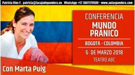 6 Marzo 2018 ( Bogotá - Colombia ) - Conferencia Mundo Pránico, con Marta Puig