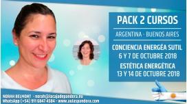 6, 7, 13 y 14 Octubre 2018 ( Buenos Aires, Argentina ) - RESERVA - PACK 2 TALLERES con Marta Puig