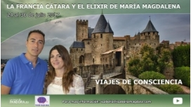 24 al 30 de julio 2017- Viaja por La Francia Cátara y El Elixir de María Magdalena por Isabella Magdala y Deva Prem