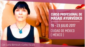 CURSO PROFESIONAL DE MASAJE AYURVÉDICO