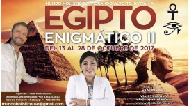 Del 13 al 28 octubre 2017 - VIAJE EGIPTO ENIGMATICO II Con Isabela Delcourt y Rolando Lara