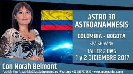 RESERVA - Taller Astro 3D, Astroanamnesis - Norah Belmont